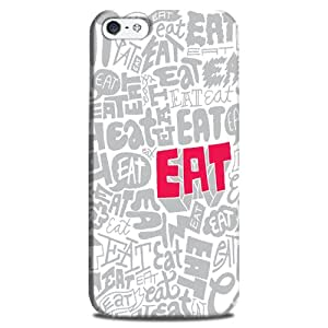 StyleO iPhone 5S/ iPhone 5 designer case and printed mobile back cover Eat pattern
