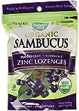 Nature's Way Organic Lozenge, Elderberr Zinc, 24 Count