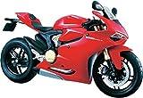 マイスト Maisto 1/12 ドゥカティ パニガーレ Ducati 1199 Panigale Red 組み立て オートバイ Motorcycle バイク Assembly DIY Bike Model Kit ロードバイク [並行輸入品]