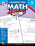 img - for Common Core Math 4 Today, Grade 2: Daily Skill Practice (Common Core 4 Today) book / textbook / text book