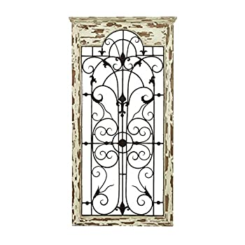Deco 79 Magical Wooded Gate Style Wall Plaque