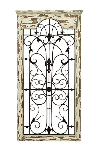 Deco 79 Magical Wooded Gate Style Wall Plaque 0