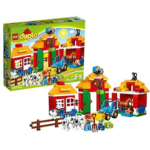 LEGO - 10525 - DUPLO - Jeu de Construction - La Grande Ferme
