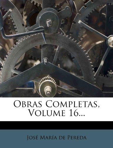 Obras Completas, Volume 16...
