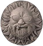 JBK 12 Inch Ceramic Mr Harley Sun Face, Antique White