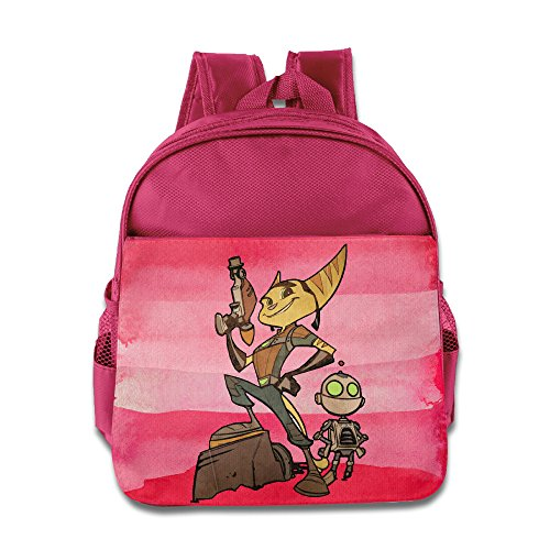 KIDDOS Infant Toddler Kids Ratchet Go Backpack Satchel School Book Bag, Pink (Fraggle Harness compare prices)