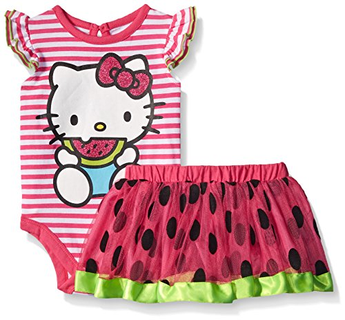 Hello-Kitty-Baby-Girls-2-Pc-Tutu-Skirt-Set