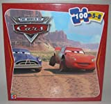 Disney Pixar Cars 100 Piece Puzzle - McQueen with Doc Hudson