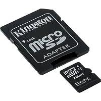 Samsung DV150F Digital Camera Memory Card 16GB microSDHC Memory Card with SD Adapter by Kingston
