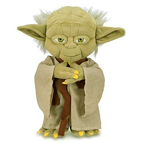 Disney Yoda Plush Star Wars Small 12'' Plush Mascot 30.4cm