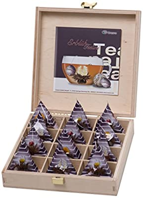 """Creano ErblühTeelini 12er Präsentbox """"Schwarzer Tee - aromatisiert"""", 1er Pack (1 x 60 g) von Creano bei Gewürze Shop"""