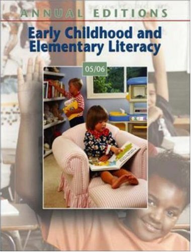Annual Editions: Early Childhood and Elementary Literacy...