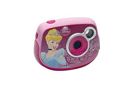 LEXIBOOK - DJ014DP - Appareil Photo Enfant - Disney Princesse 1,3 Mégapixels