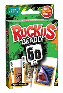 Ruckus Deadly 60 Card Game