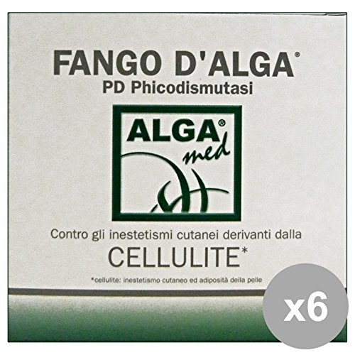 Set 6 ALGAMED Fango D'Alga 400 Ml. Cura del corpo