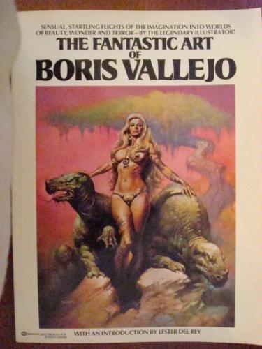 The Fantastic Art of Boris Vallejo, Boris Vallejo