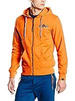CMP Campagnolo Sudadera con Cierre 3D39147 (Naranja)
