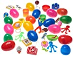 12 Toy Filled Easter Eggs. Eggs Measu...