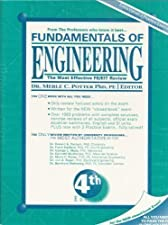 Fundamentals of Engineering The Most Effective and Authoritative Review Book for by Merle C. Potter