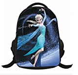 Disney Frozen Black Backpacks Elsa and Anna Frozen Bags School Bag