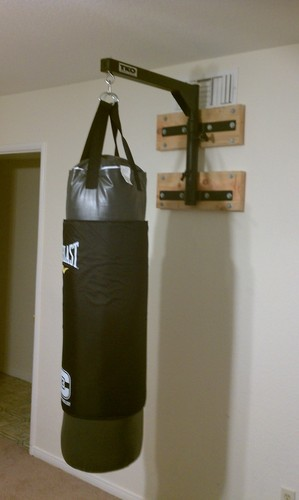 Amazon Com Tko Heavy Bag Wall Mount Punching Bag