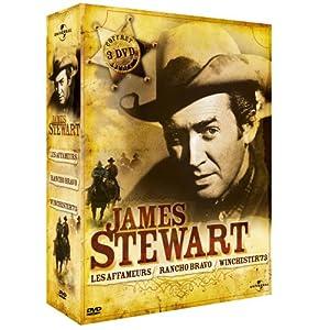 Coffret James Stewart 3 DVD : winchester 73 / les affameurs / rancho bravo
