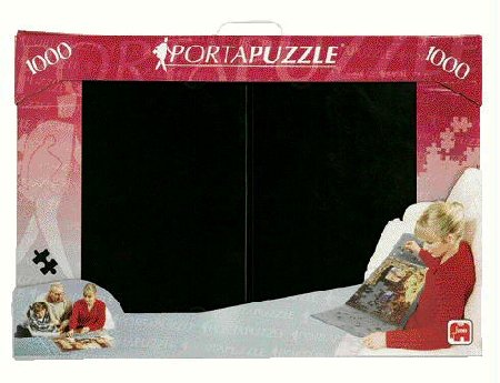 Buy Low Price Jumbo PortaPuzzle 1000 Piece Jigsaw Puzzle Storage and Transport 1000pc (B00067U5NE)