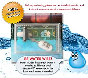 Swimming pool auto fill valve and protective - Swimming pool water level float valve ...