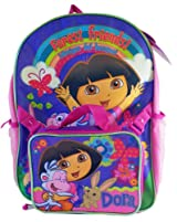 Dora the Explorer Forest Friends Backpack With Utility Pouch (16 Inch)