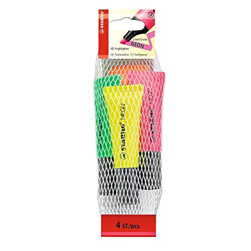 stabilo-neon-set-of-4-highlighter
