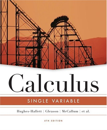 Free Download Calculus: Single Variable by Hughes-Hallett