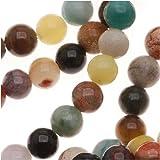 Gemstone Bead Mix 4mm Round Beads /15.5 Inch Strand