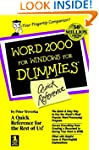 Word 2000 for Windows For Dummies Qui...