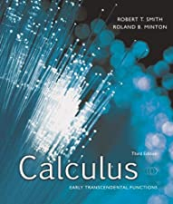 Calculus Early Transcendental Functions by Robert T Smith