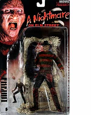 Picture of McFarlane 1998 Movie Maniacs Series 1 Bloody Version - Freddy from A Nightmare on Elm Street Figure (B000RLNIVA) (McFarlane Action Figures)