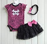 Litte Diva Skull Tutu Set - NEW