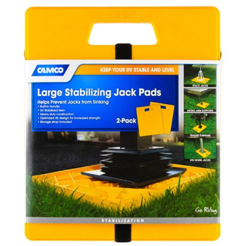 Camco 44541 Large Stabilizer Jack Pad - 2 pack (Camper Support Jacks compare prices)