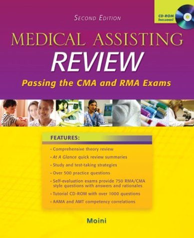 MP: Medical Assisting Review with Student CD-ROM