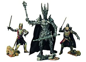 Lord of the Rings Lord of the Rings Armies of Middle Earth; THE DEFEAT OF SAURON Figure Set 1/24 Scale