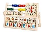 ELEEJE 天才ベビー 木製 知育 おもちゃと かわいい 動物や乗り物パズル の セット