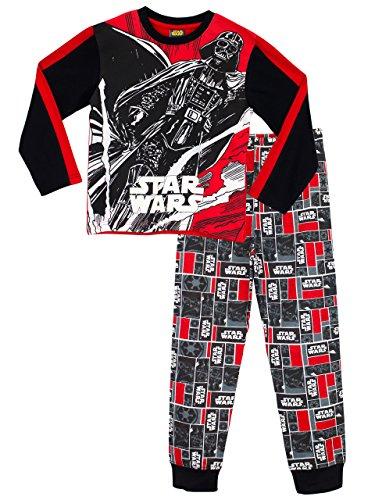 Star Wars - Pigiama a maniche lunga per ragazzi - Si Illuminano al Buio - 10 a 11 Anni