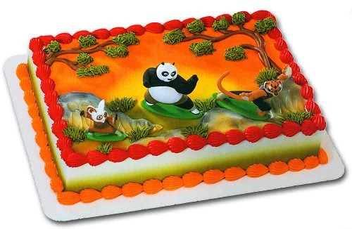 how to make kung fu panda cake