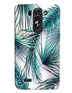 Blue Throat Grass Hard Plastic Printed Back Cover/Case For LG G3 Beat