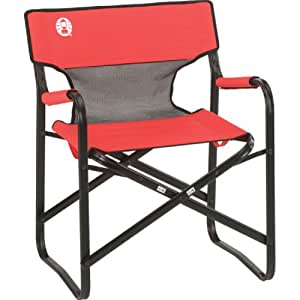 Buy Coleman Steel Deck Chair With Mesh Online At Low