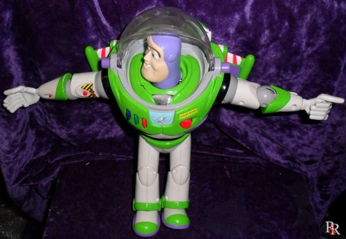 Disney-Pixar-Toy-Story-2-Flight-Control-Talking-Buzz-Lightyear-12-Action-Figure-1999-Mattel