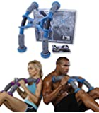 ABXCORE - Flat Abs in 7 minutes a day! Revolutionary Abdominal Exercise device + Travel Bag. Ab situp & Core Crunch Machine, proven results. 300% more then a crunch, 1000% more than Ab Roller.