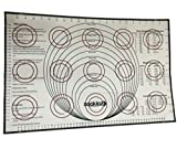 """Silicone Baking Mat With Measurements by Saakiaz 