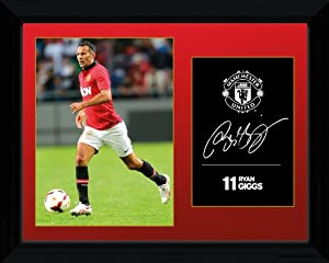 GB eye 16 x 12-inch Manchester United Ryan Giggs 13/ 14 Framed Photograph, Assorted