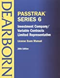 img - for Investment Company, Variable Contracts, Limited Representative: License Exam Manual (Passtrak Series, 6) by Dearborn Financial Publishing Staff (2001-12-30) book / textbook / text book