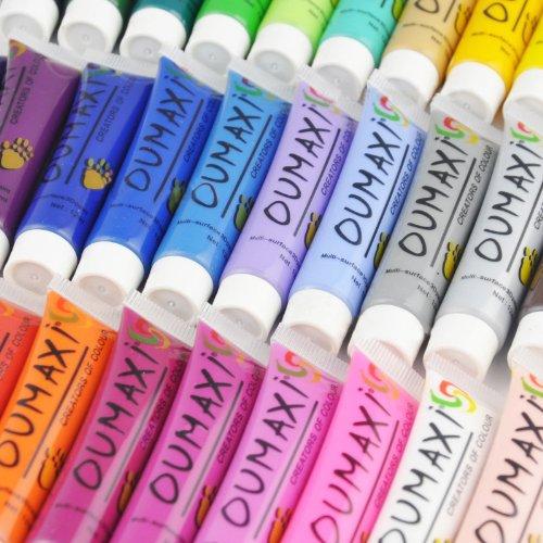 30 couleurs acrylique Nail Art peinture 3D Design polonais mis 12ml #105ALL